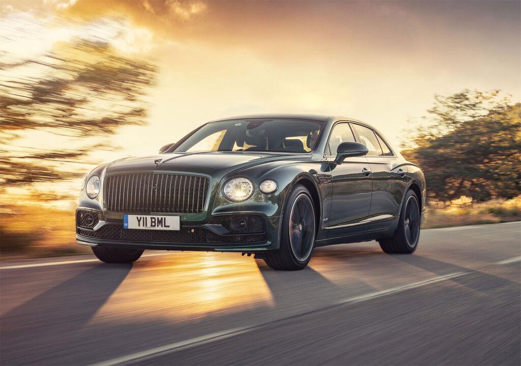 2020 version of the Bentley Motors Flying Spur