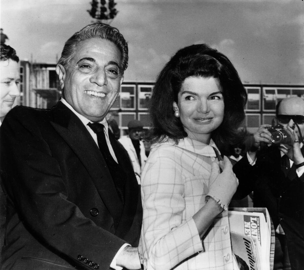 Aristotle Onassis and Christina Onassis
