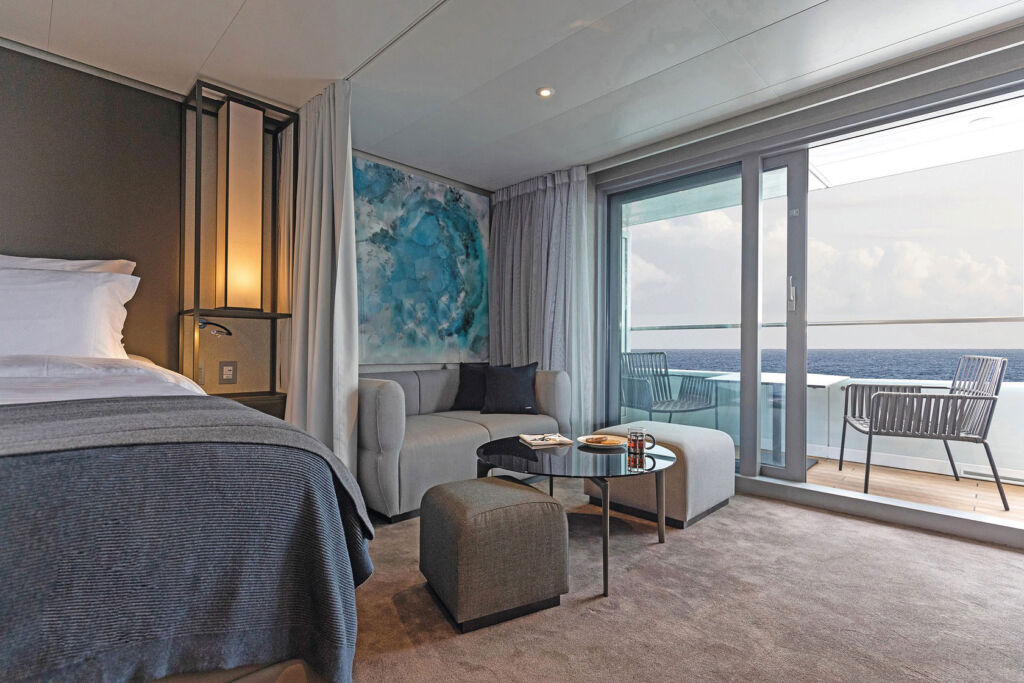 Bedroom Suite on the Scenic Eclipse