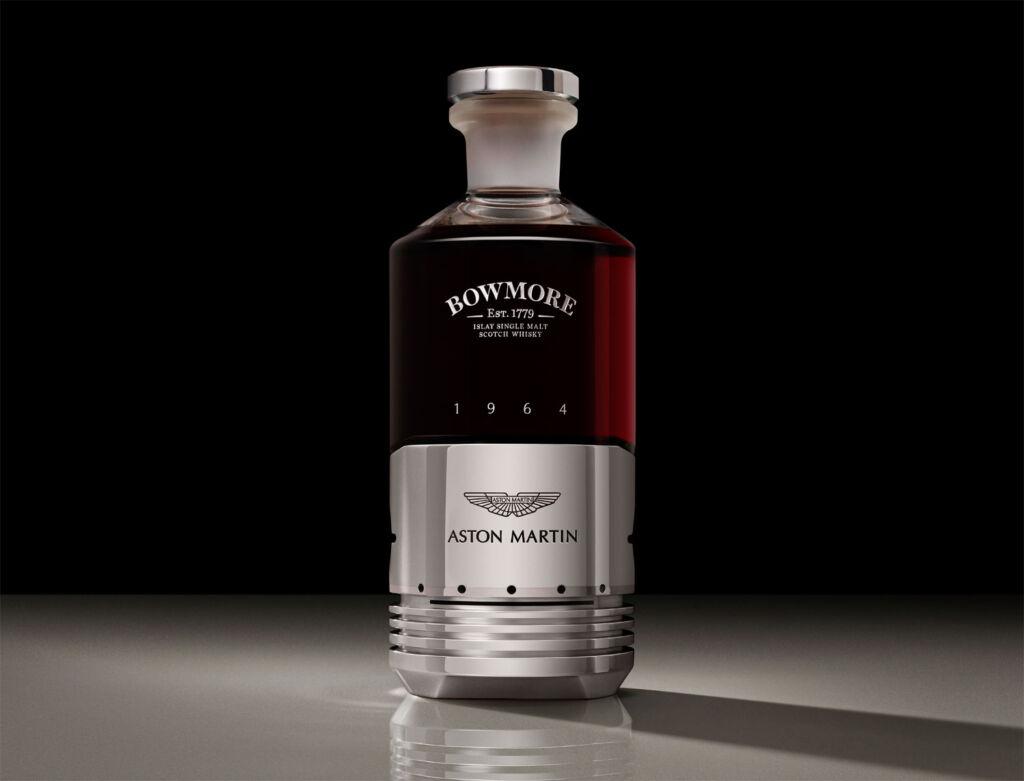 Bottle of Black Bowmore DB5 1964 whisky