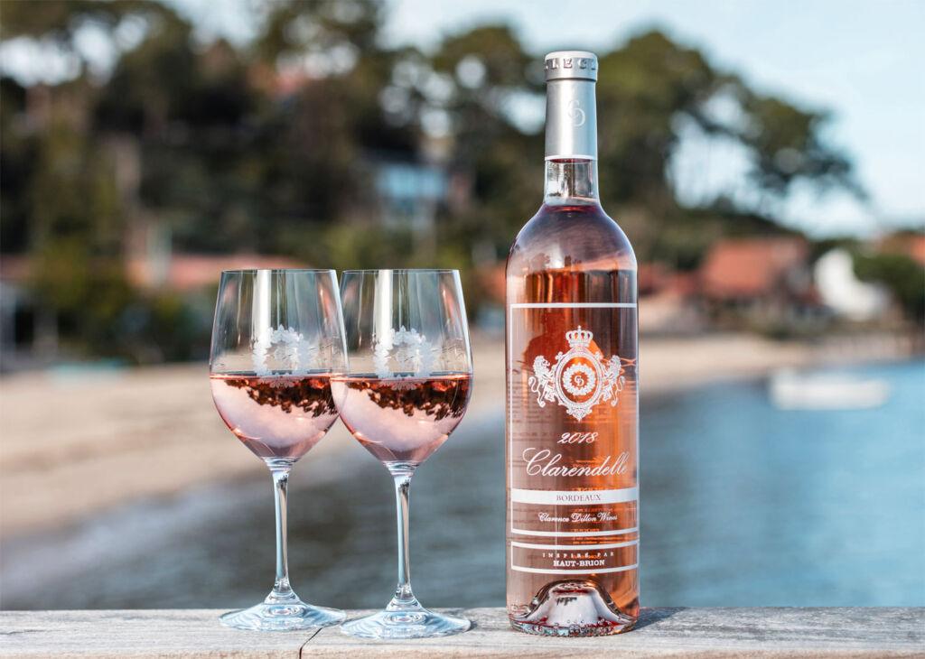 Bottle of Château Haut-Brion Clarendelle Rose