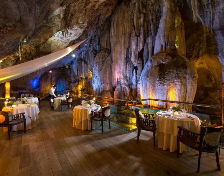 Cave Dining at the Banjaran Hotsprings Retreat in Malaysia