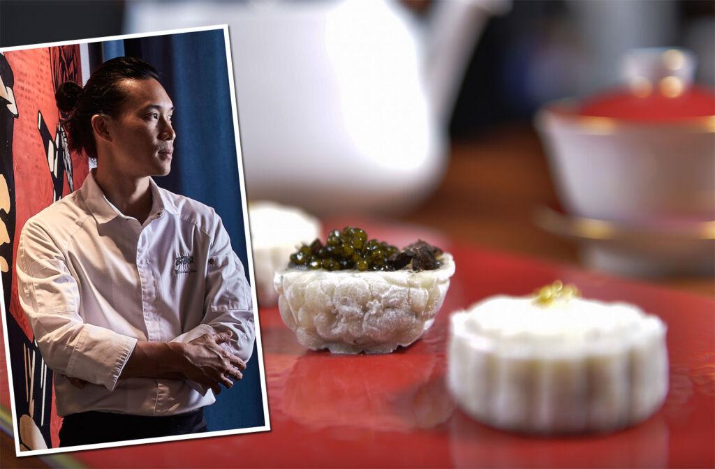 Chef Nicholas Chew of Guerrilla Lab