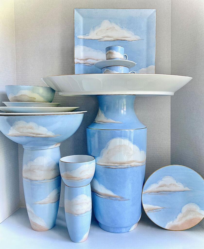Ciels Bleus Porcelain Collection