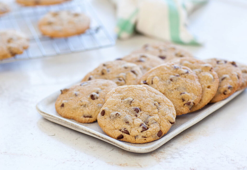 Cookies made with Guittard Chocolate Baking Chips