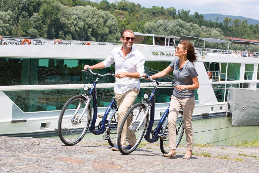 EmeraldACTIVE bicycle tour around Danube Island