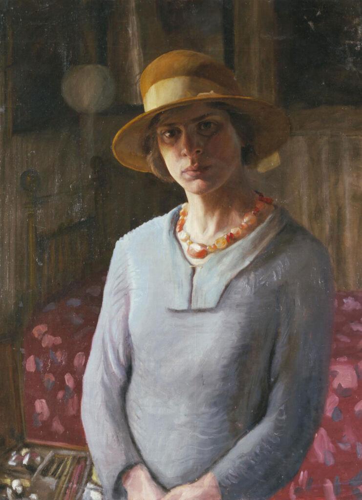 Hilda Carline, Self-Portrait,
