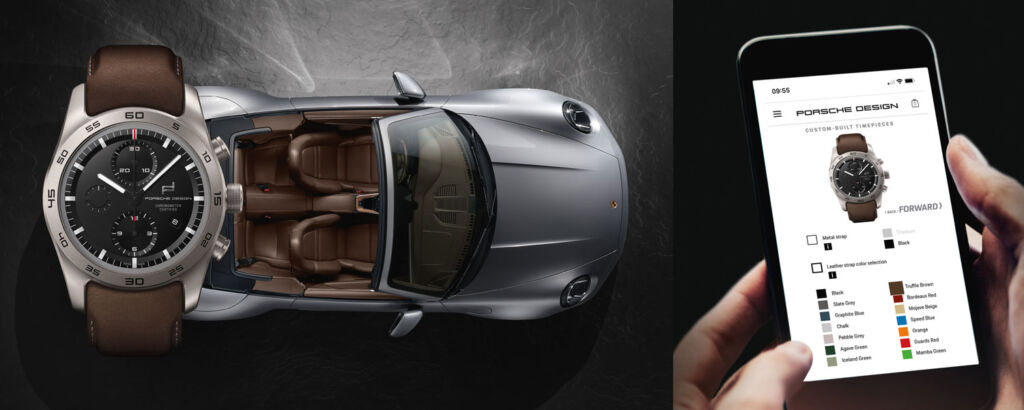 How to use the Porsche Design Timepiece Configurator