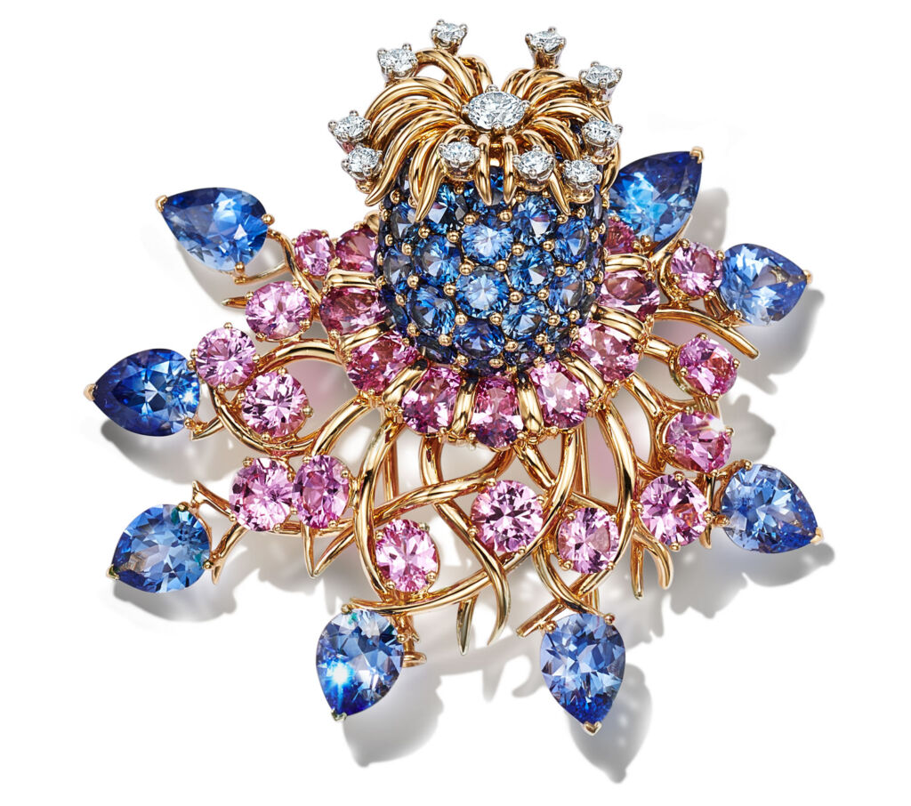 Jean Schlumberger Ancolie Brooch for Tiffanys