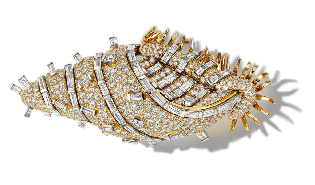 Jean Schlumberger Shell Brooch for Tiffanys