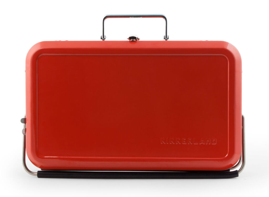 The Kikkerland Suitcase BBQ Makes Summer Even More Fun