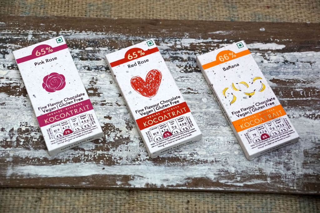 How Kocoatrait's Reclaimed Cocoa Husk Wrappers are Helping the Planet