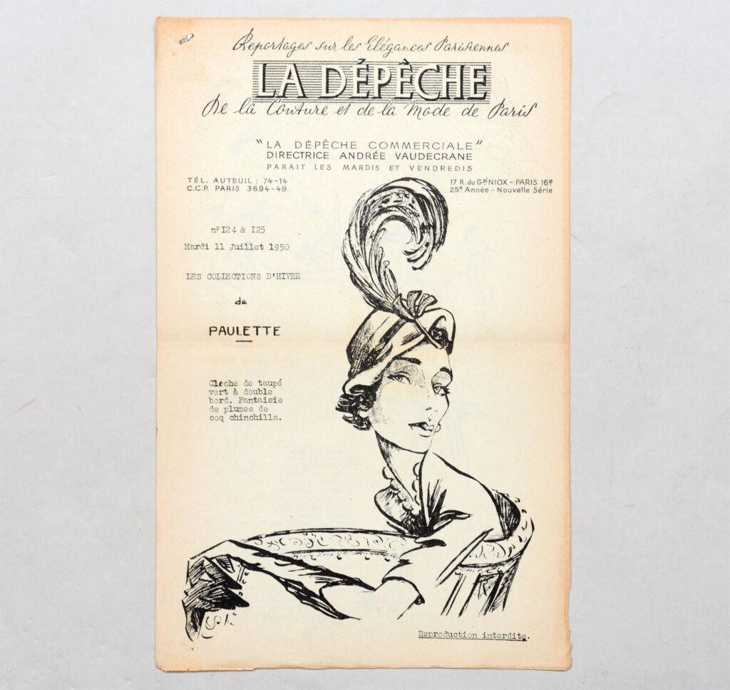La Depeche Commerciale Paris