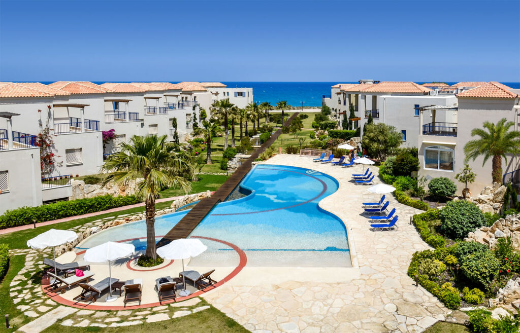 Leptos Aphodite beachfront development in Greece