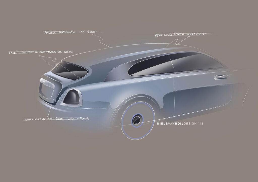 Niels van Roij design sketch