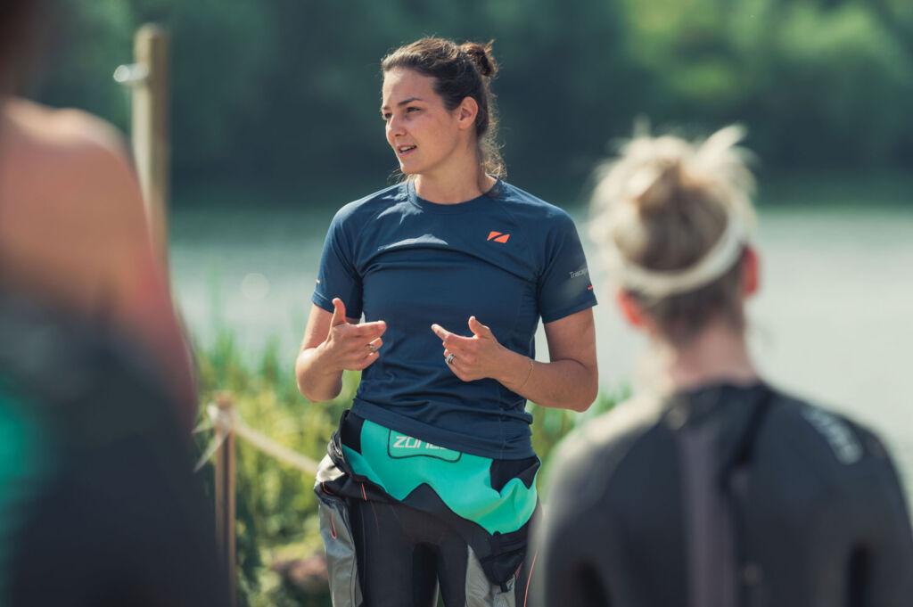 Keri-Anne Payne offering tips on Open Water swimming