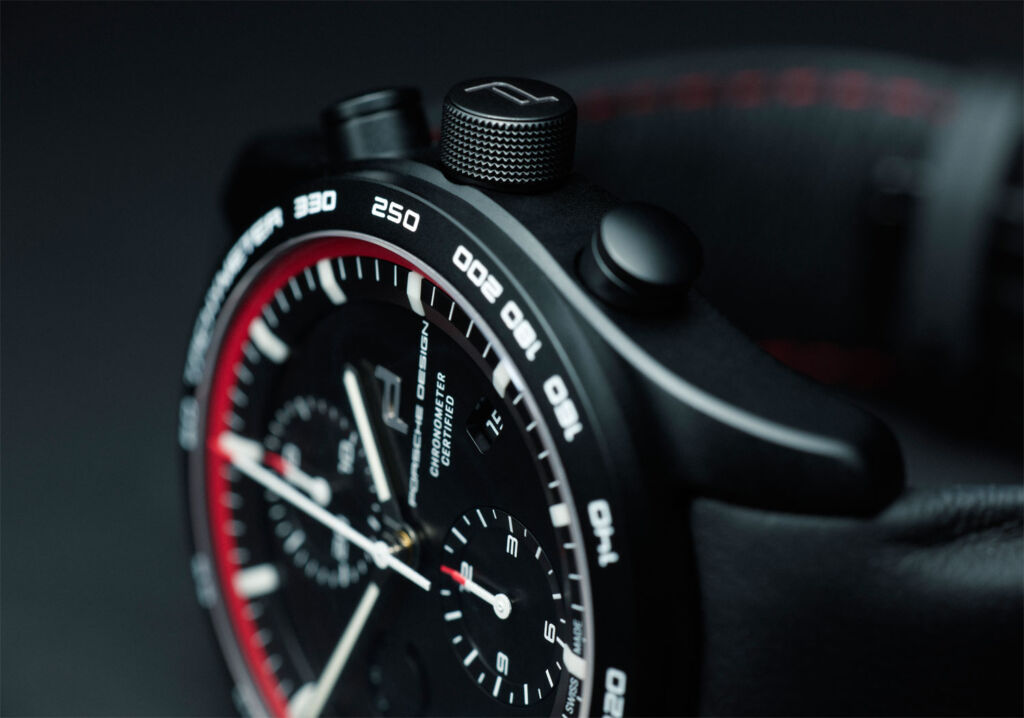 Porsche Design Chronograph Bezel and Dial