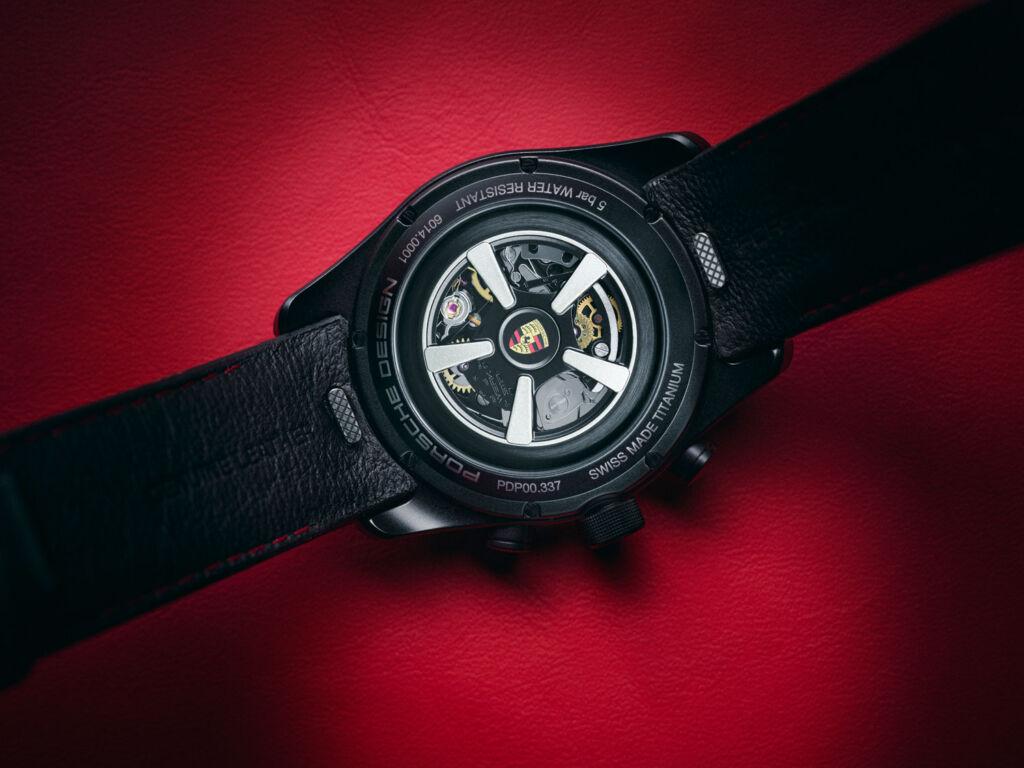 Porsche Design Chronograph WERK 01 100 movement