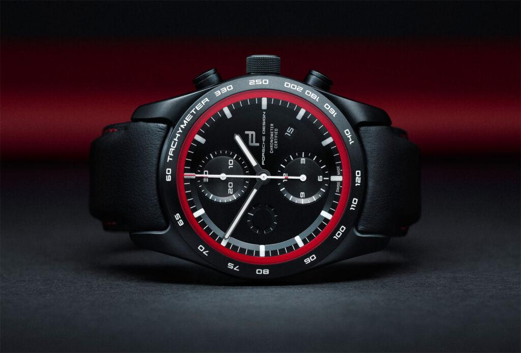 Porsche Design Chronograph watch in black