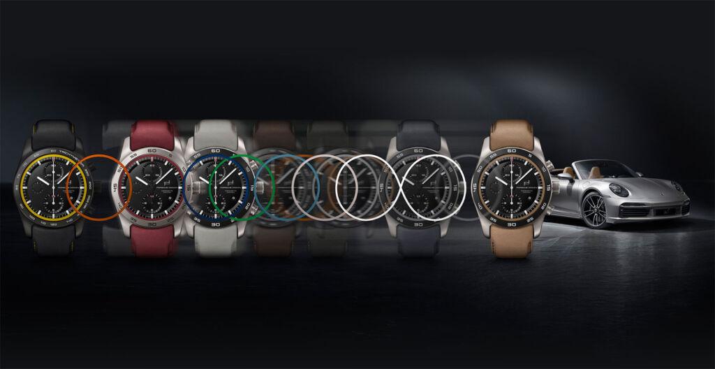Porsche Design watch customisation tool