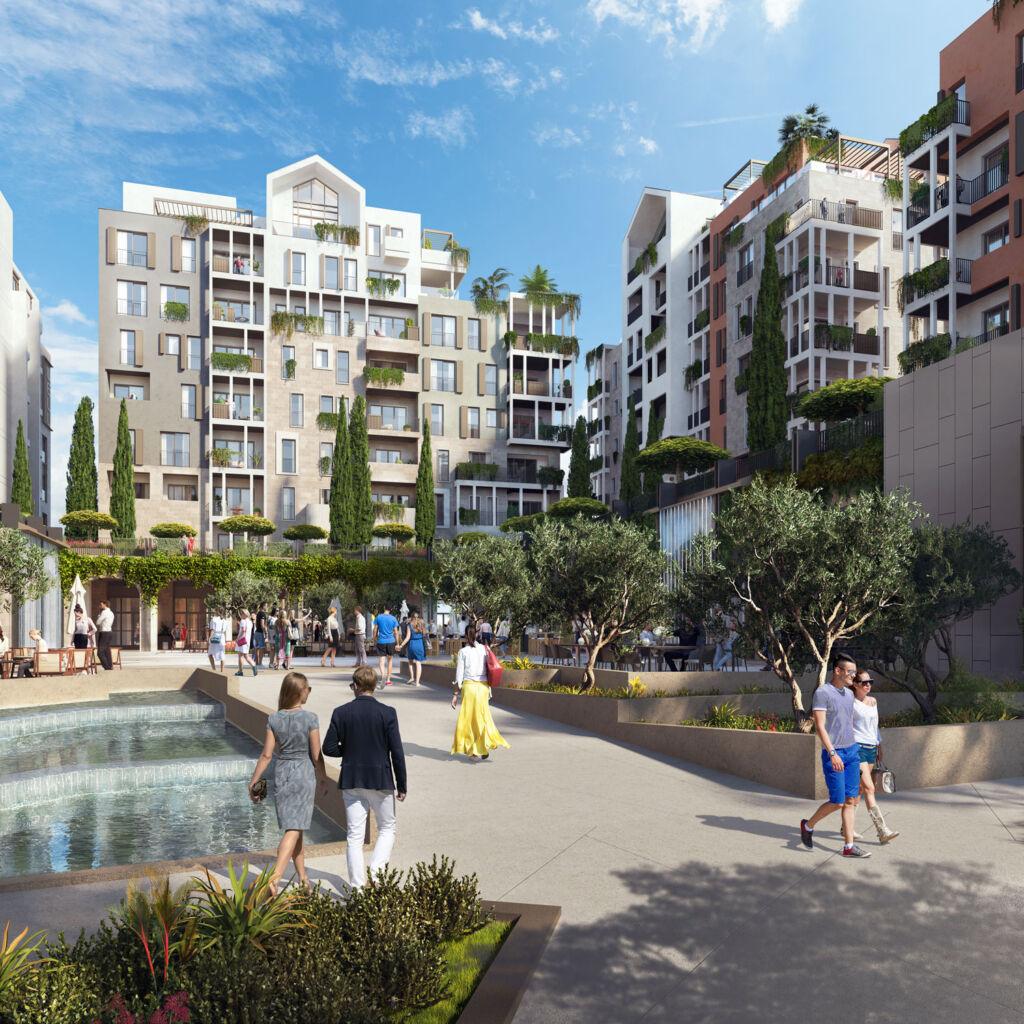 Residential properties at Boka Place Porto Montenegro