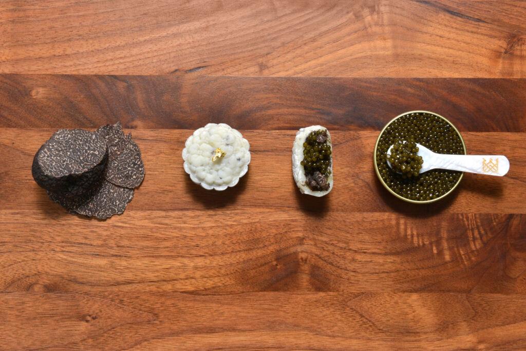Royal Caviar Club Caviar & Australian Black Truffle ingredients
