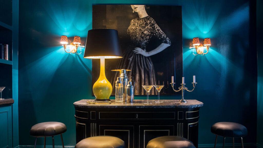 SKIN luxury living room interior design project