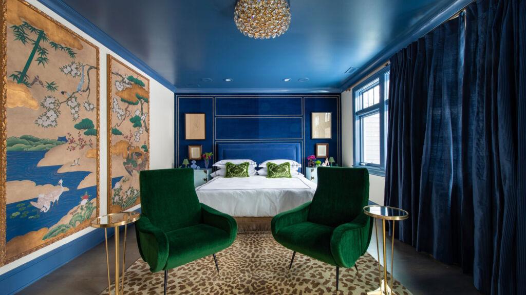 SKIN luxury bedroom interior design project