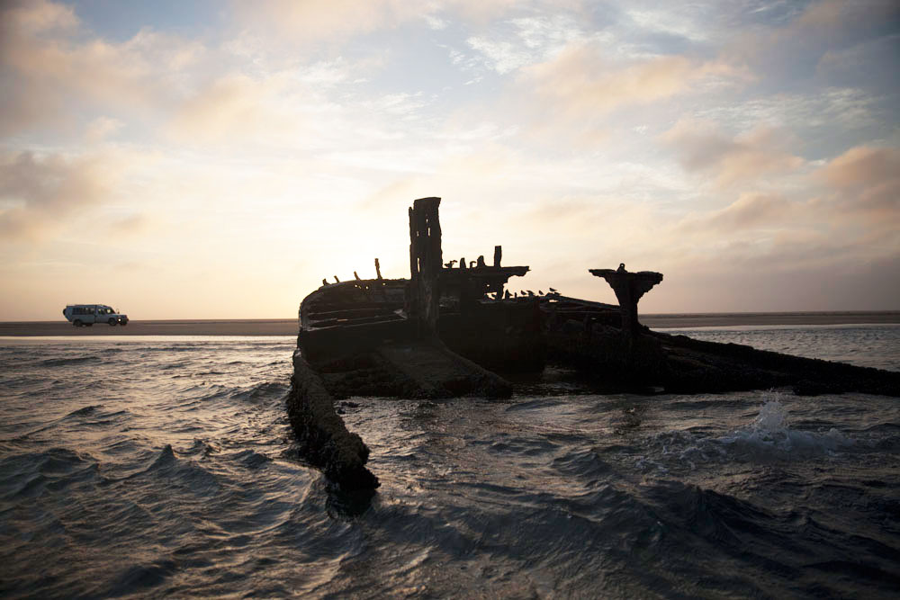 Shipwreck on the Skeleton Coast
