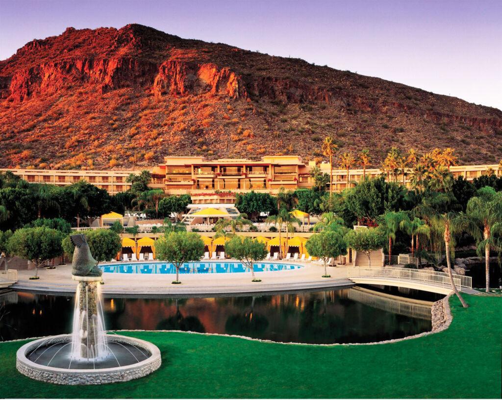 The Phoenician Hotel in Scottsdale Arizona