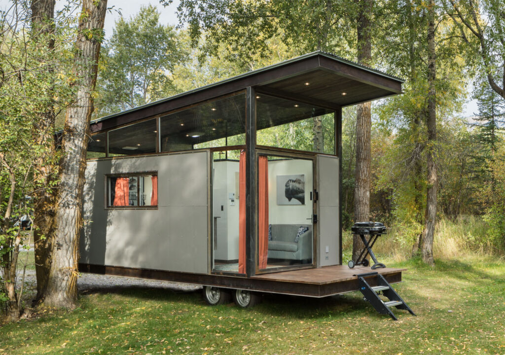 The RoadHaus Wedge RV is a movable office