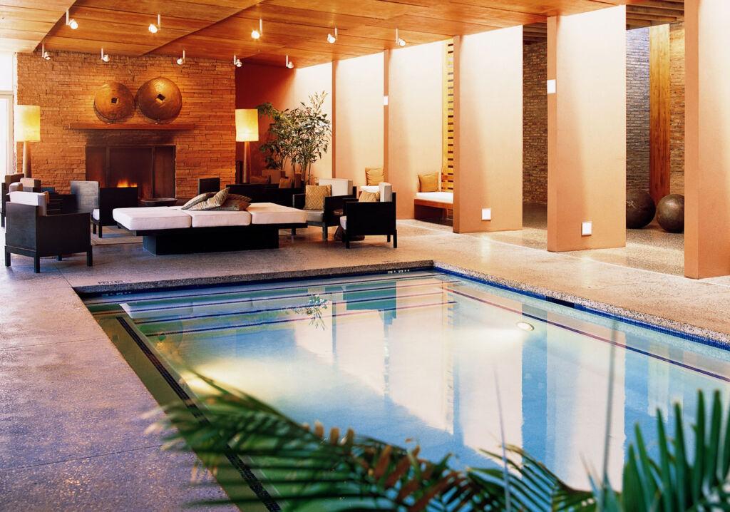 The spa pool at Mii Amo in Sedona
