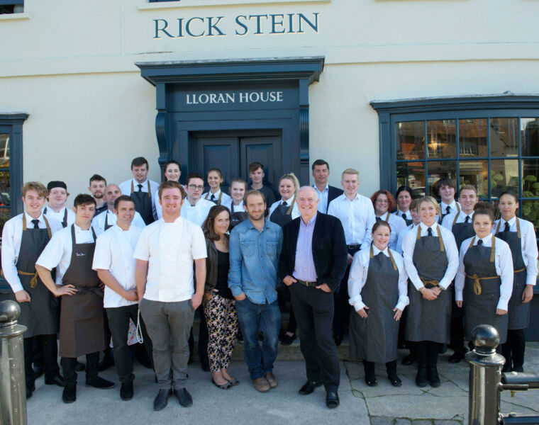 The team at Rick Stein Malborough are ready for Septemeber reopening