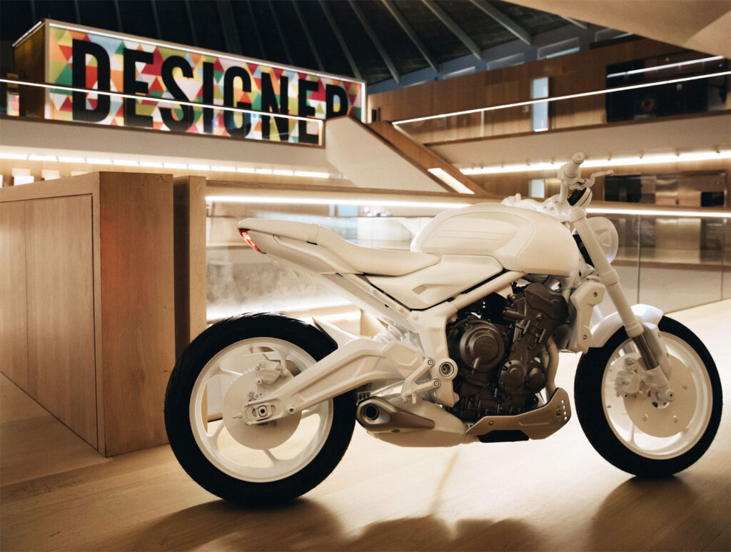 Triumph Trident Design Prototype at the London Design Museum
