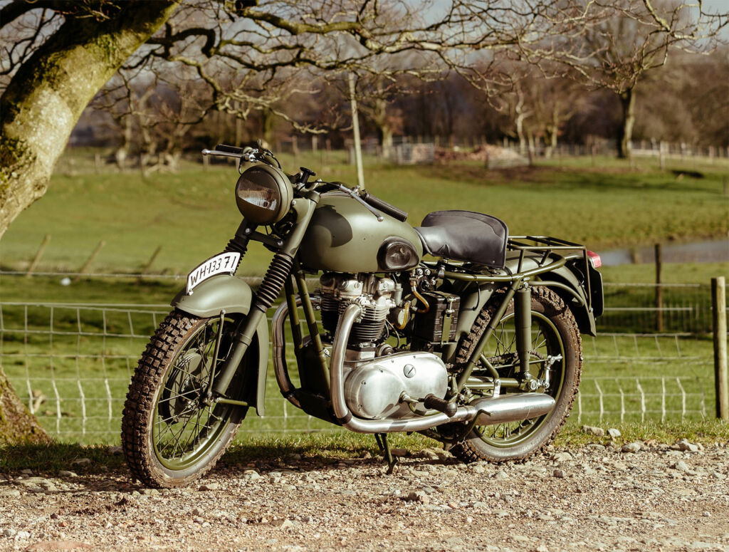 650cc Triumph TR6 used in the Great Escape