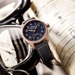 The watch is significantly influenced by the aviation industry