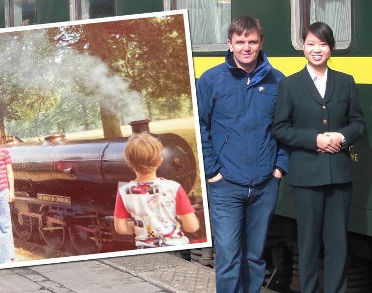 Andy Brabin Rail Adventurer
