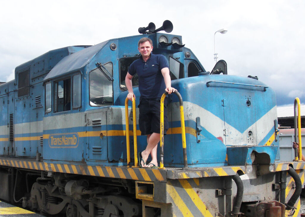 Interview with Andy Brabin, Rail Adventurer