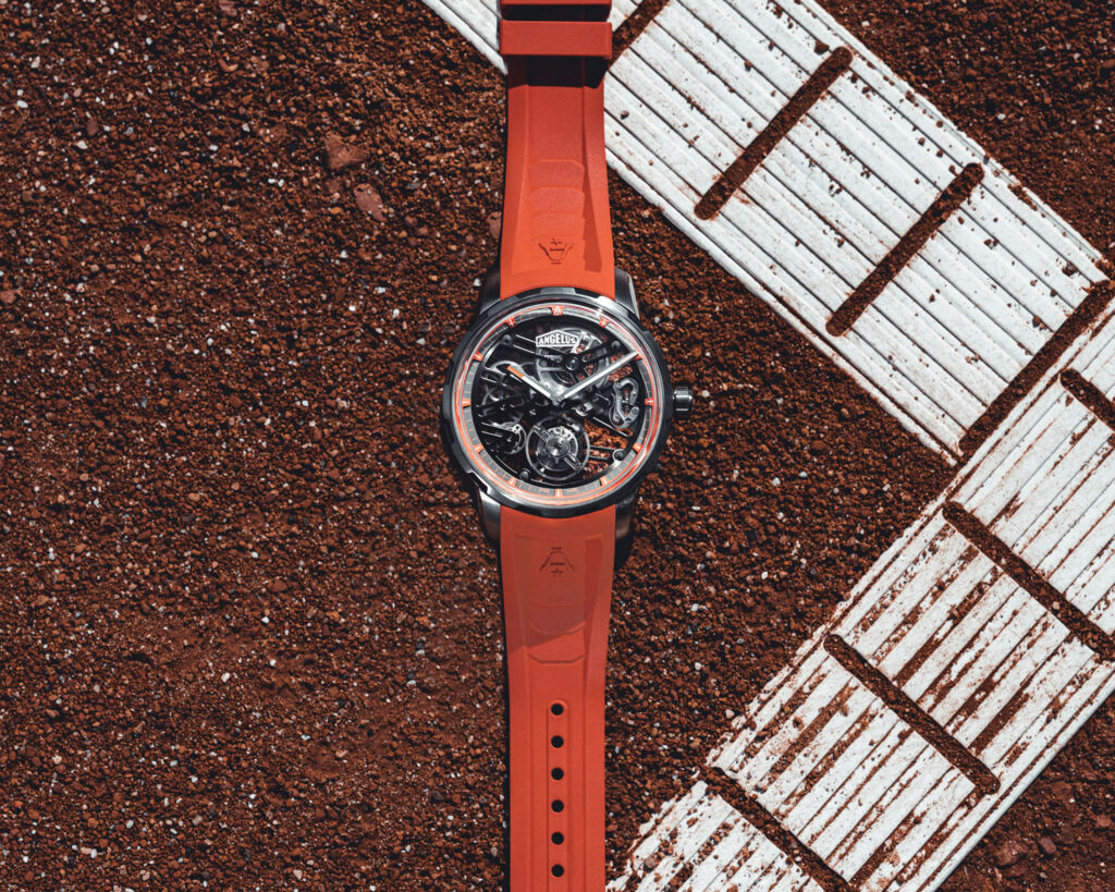 Angelus U41 orange edition watch