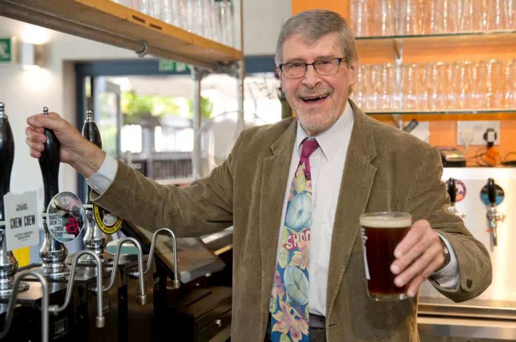 Roger Protz, author of The Family Brewers of Britain
