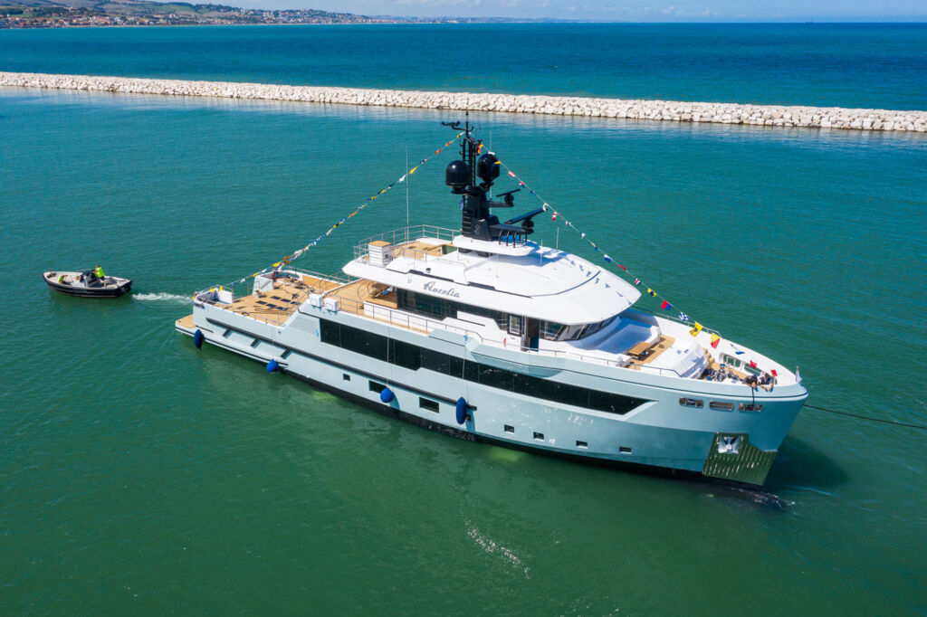 Aurelia, Cantiere Delle Marche's First Explorer, is Launched