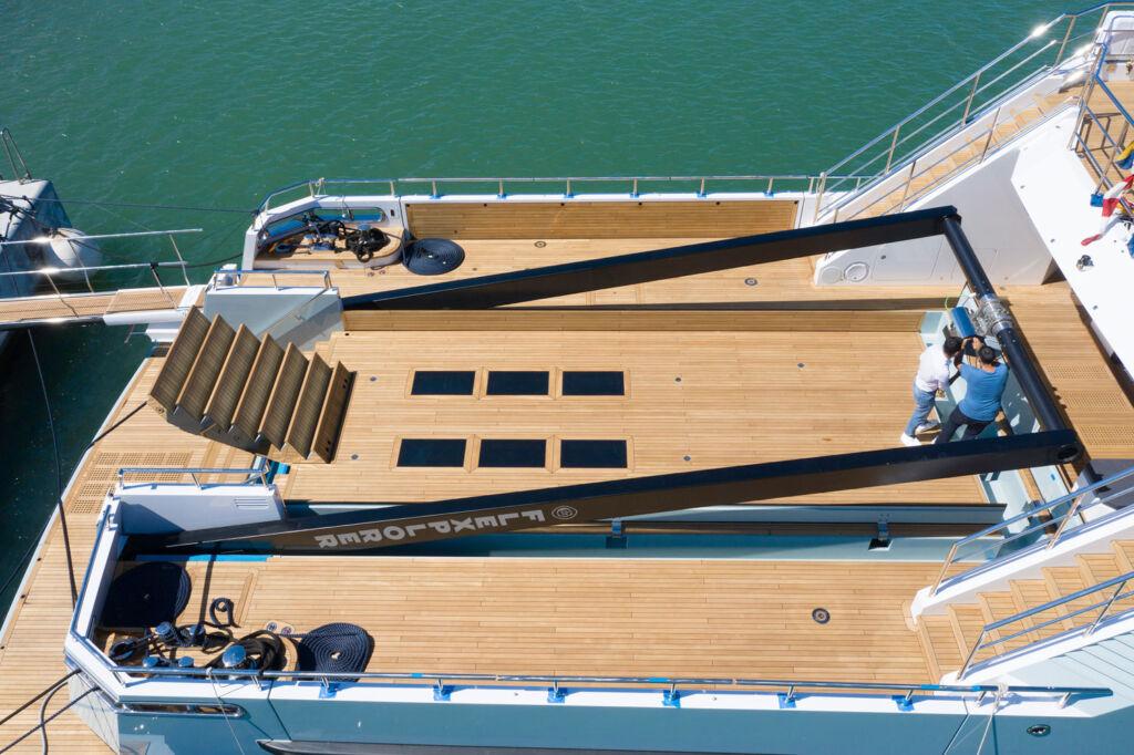 Cantiere Delle Marche Flexplorer deck area