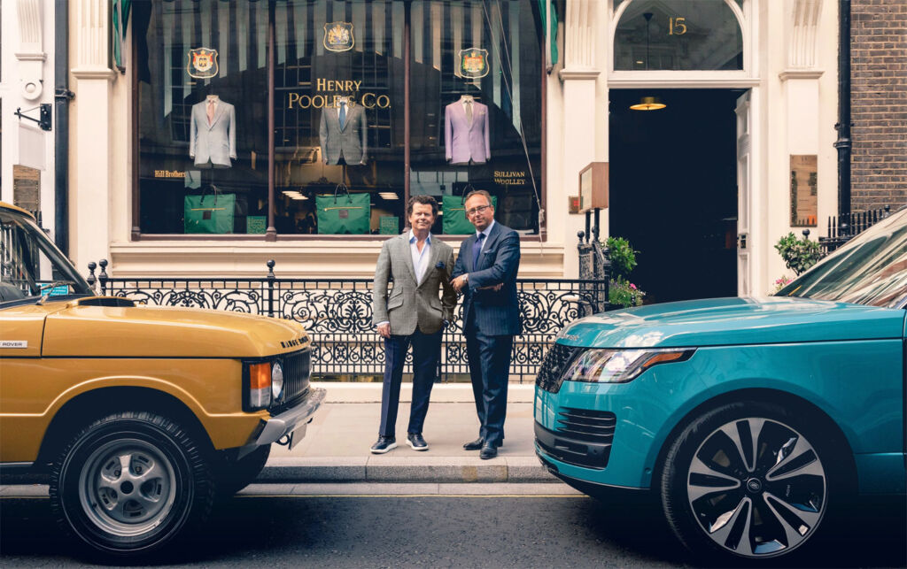 Celebrating 50 years of the Range Rover