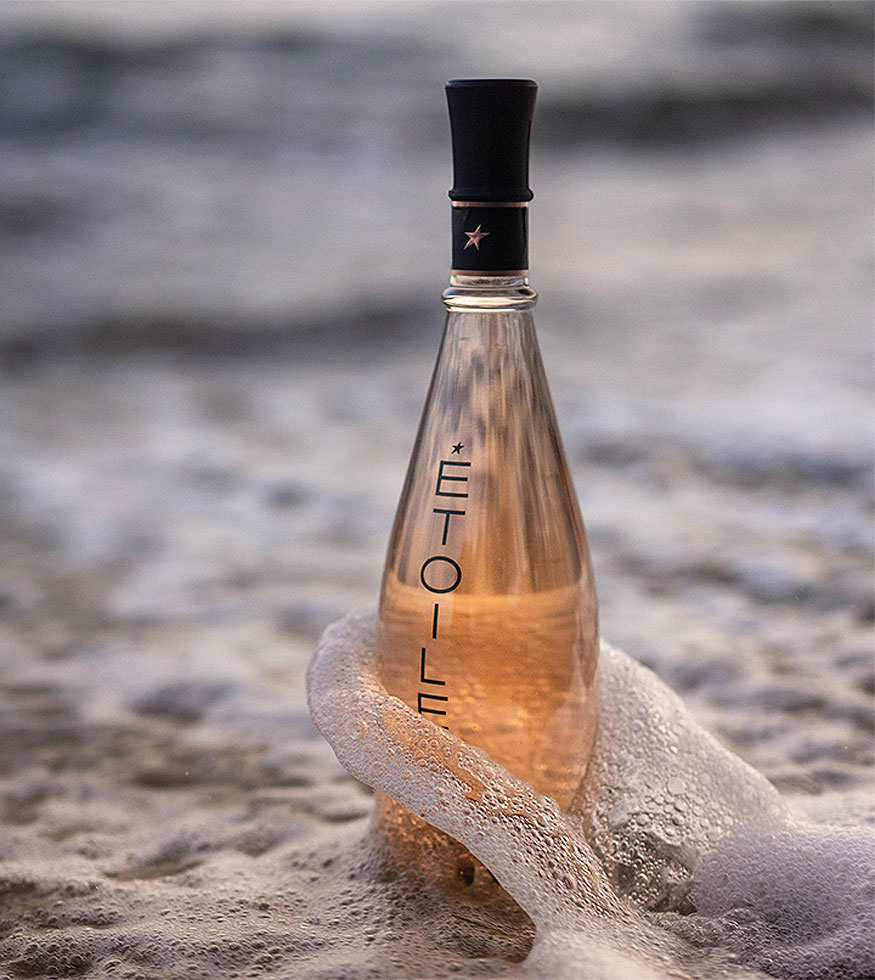 Domaines Ott Étoile bottle in the sea