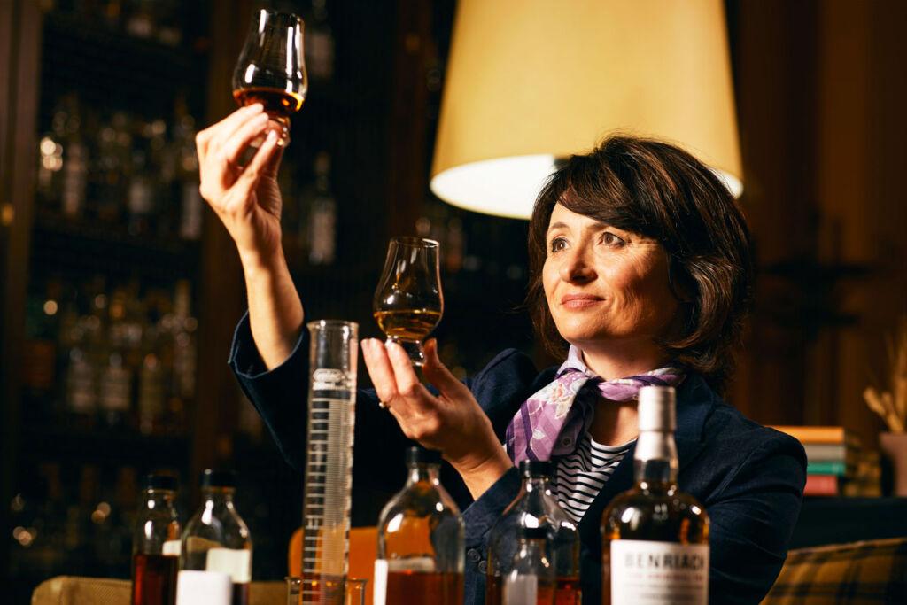 Benriach Master Blender Dr. Rachel Barrie