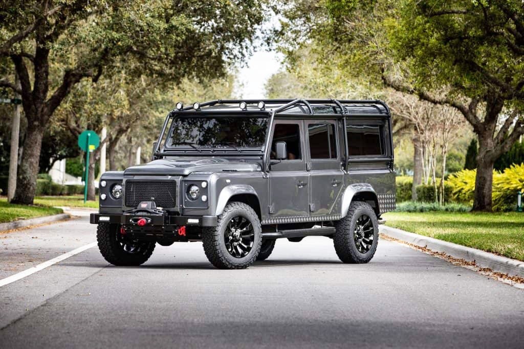 ECD Automotive Project Spartan Defender 110