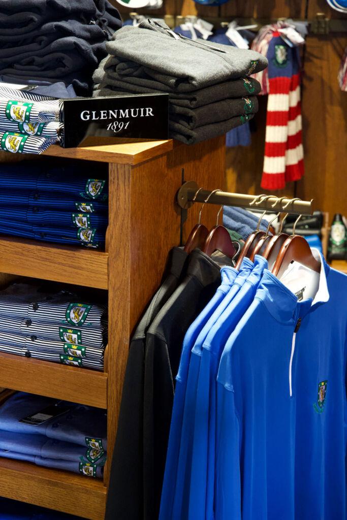 Glenmuir 1891 pro shop display