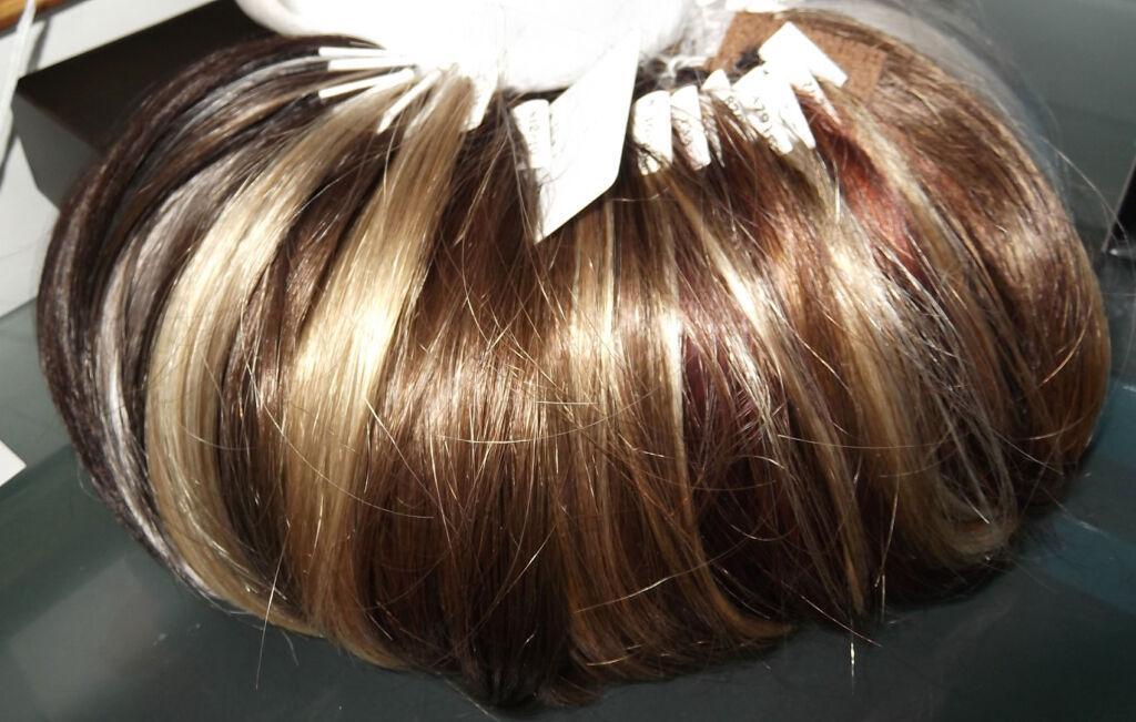 Hair samples for hair transplants