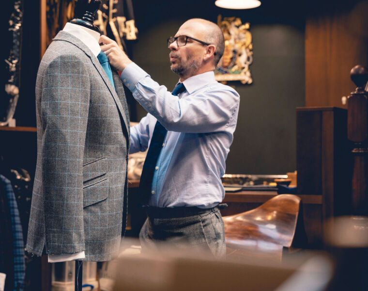 Henry Poole & Co bespoke tailoring London