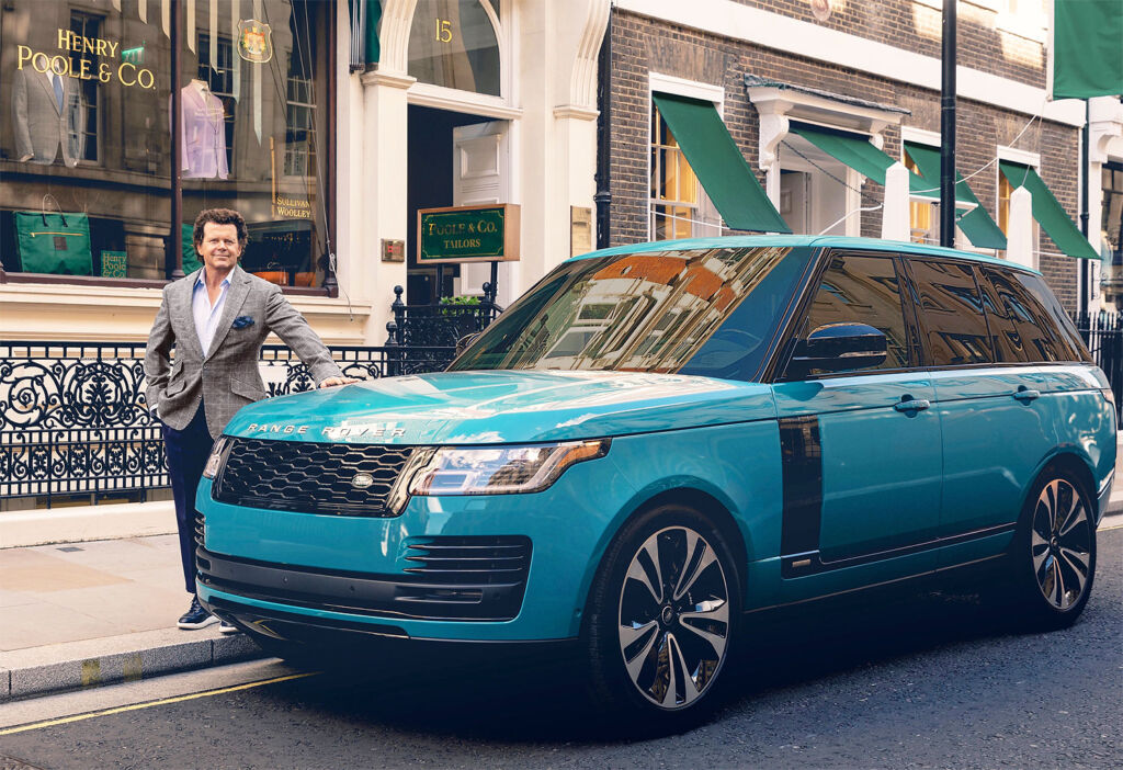Henry Poole & Co celebrates Range Rover 50th